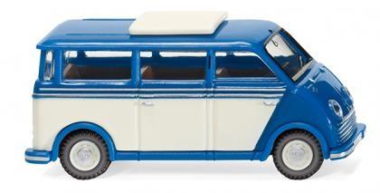 Wiking DKW Schnelllaster Bus blau/perlweiß (033402)