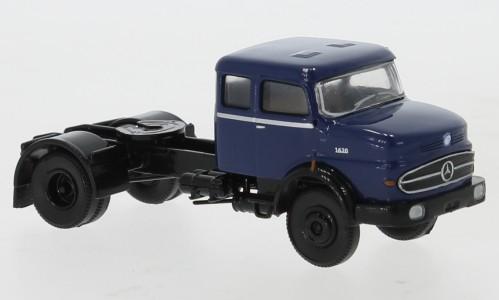 Brekina: Mercedes LS 1620 SZM d´blau/schwarz (81119)