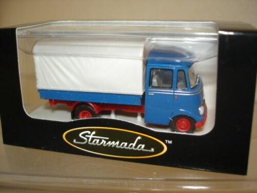 Mercedes L 319 Pritschenwg., signalblau/rot in PC v. Starmada (13570)