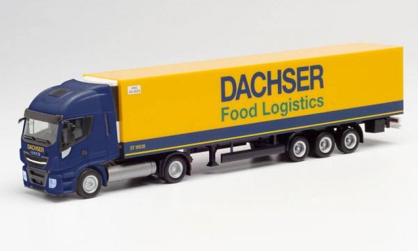 "Herpa Iveco Stralis NP Kühlkoffer-Sz. ""Dachser Food Logistics"" (312455)"