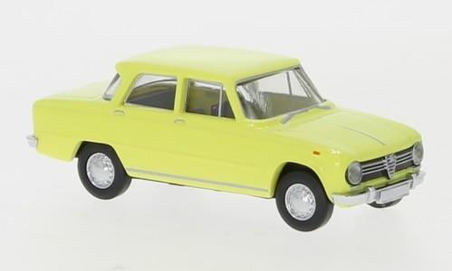 Brekina Alfa Romeo Giulia 1300 (1962) dunkelgelb (29526)