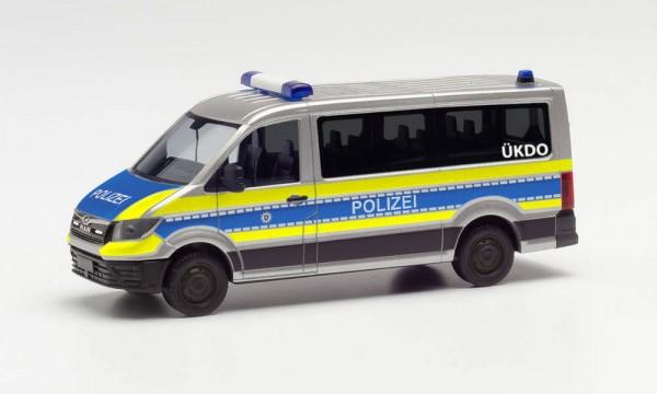 """Herpa MAN TGE Bus FD """"Polizei Wiesbaden"""" (096195)"""