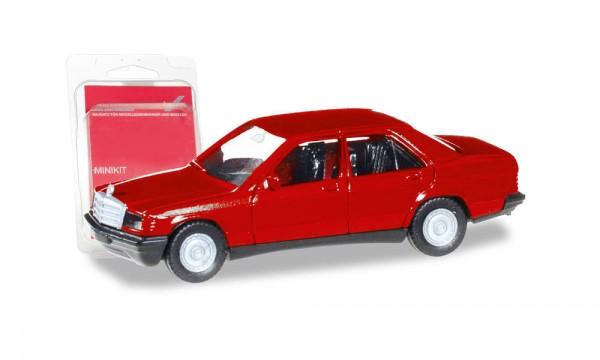 Herpa MiniKit: Mercedes-Benz 190 E rot (012409-007)