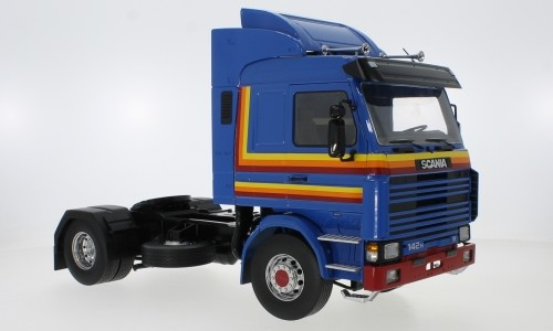 MCG Scania 143 Topline Zugmaschine (1987) blau (18144)