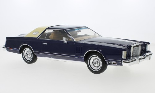 MCG Lincoln Continental Mark V (1978) dunkelblau (18215)