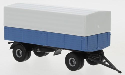Brekina: 2a-Anhänger Pr./Pl. blau/schwarz (55334)