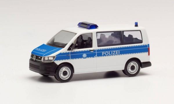 """Herpa: VW T6 Bus """"Bundespolizei"""" (096355)"""
