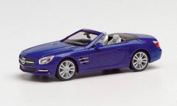 Herpa Mercedes SL-Klasse Cabrio cavansitblau met. (034838-002)