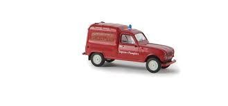 """Renault R4 Fourgonnette """"Sapeurs Pompiers"""" (14714)"""