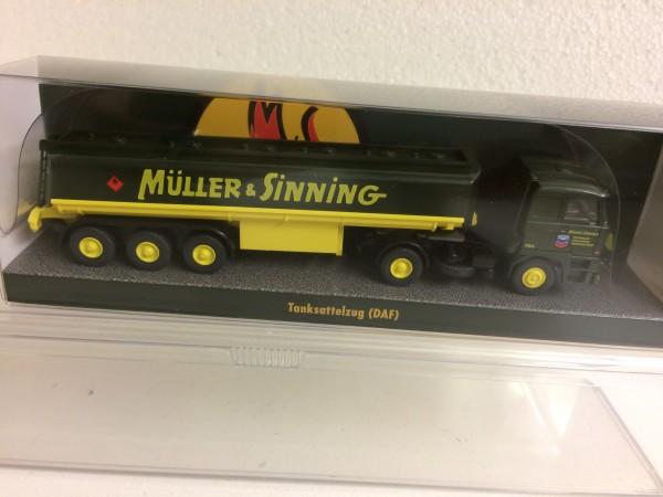 """Wiking DAF 3300 Tank-Sz. """"Müller & Sinning"""""""