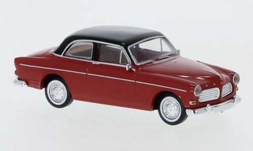 Brekina: Volvo Amazon (1956) rot/schwarz 2trg (29217)