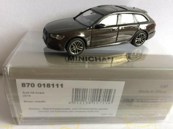 Audi A6 Avant (2018) braun-met. (870018111)