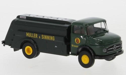 """Brekina: MB L 322 Tankwagen """"Müller & Sinning"""" (47040)"""