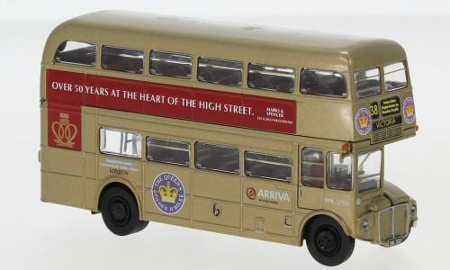 """Brekina AEC Routemaster """"Golden Jubilee 2002"""" (61106)"""