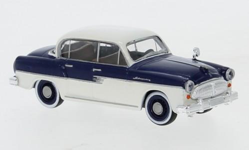 Brekina: Sachsenring P 240 (1956) dunkelblau/weiß (27472)