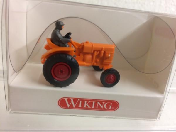 Traktor Fahr D 180 H Schlepper orange
