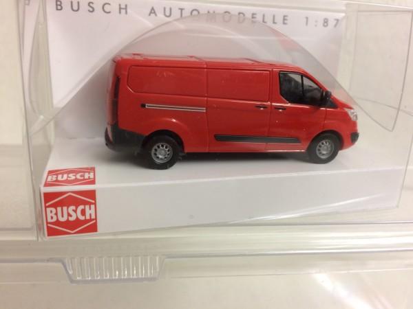 Ford Transit Custom Kasten rot (52400)