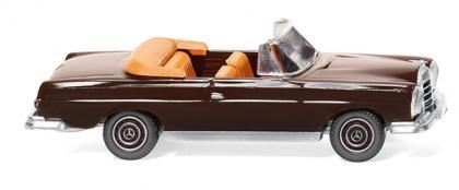 Wiking Mercedes 280 SE Cabrio schokoladenbraun (015302)