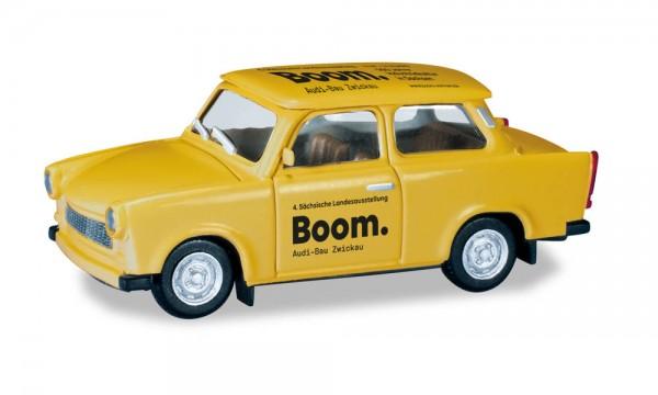 """Herpa: Trabant 601 S """"Boom / 4. Sächsische Landesausstellung"""" (430852)"""