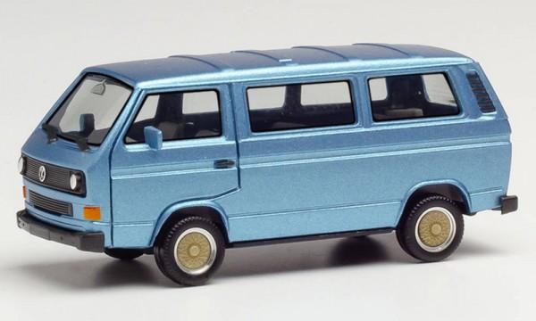 Herpa: VW T3 Bus mit BBS-Felgen blau-met. (430876)