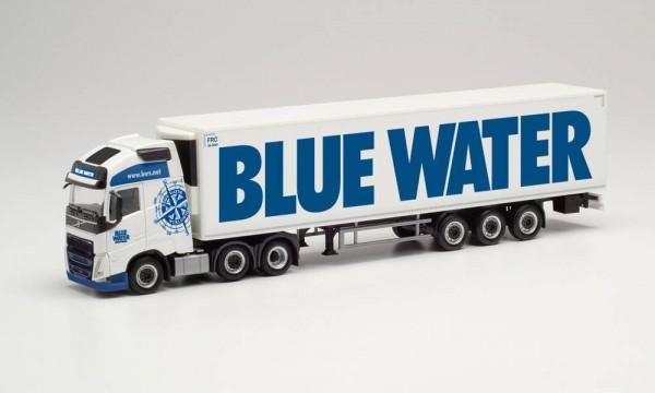 "Herpa: Volvo FH Gl. XL 2020 6×2 Kühlkoffer-Sz. ""Blue Water"" (313971)"