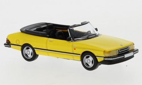 PCX87 Saab 900 Cabriolet gelb (870125)