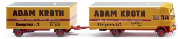 """Wiking MB Möbelkofferlastzug """"Adam Kroth"""" (050048)"""