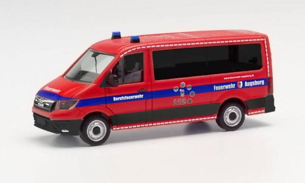 """Herpa: MAN TGE Bus FD """"Feuerwehr Augsburg"""" (096362)"""