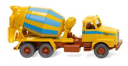 Wiking Volvo N10 Betonmischer maisgelb/hellblau (068207)