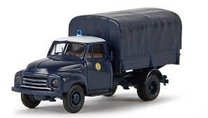 """Opel Blitz Pritsche/Plane """"Polizei"""" (35319)"""