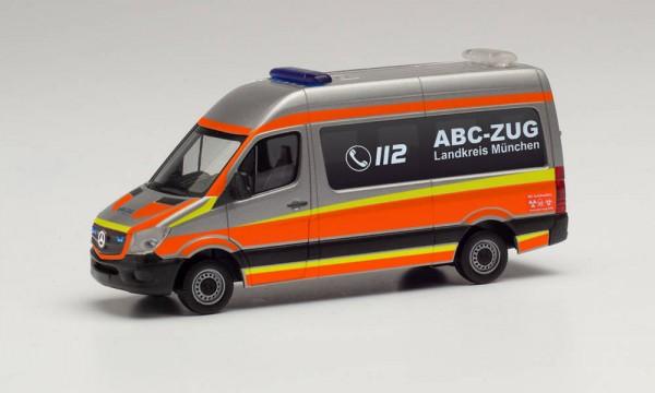 """Herpa: MB Sprinter `13 Bus HD """"ABC-Zug Landkreis München"""" (096379)"""