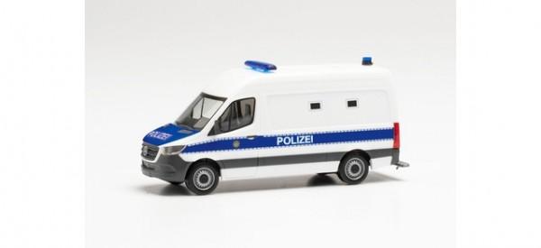 """Herpa: Mercedes-Benz Sprinter '18 Kasten """"Gefangenentransporter Polizei Berlin"""" (096492)"""