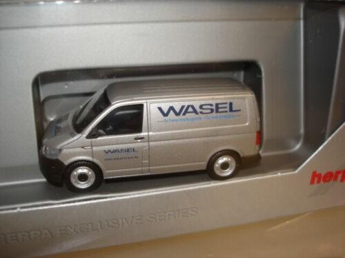 """Herpa VW T6 Kasten """"Wasel"""" (935807)"""