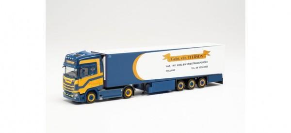 """Herpa: Scania CS 20 HD Kühlkoffer-Sattelzug """"Gebr. van Iterson"""" (314619)"""