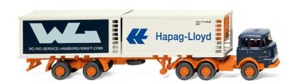 "Krupp Kühlcontainer-Sz. ""Hapag Lloyd / WL"""