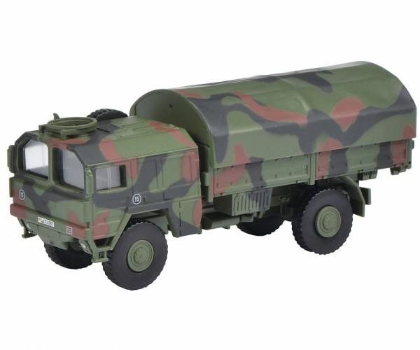 Schuco MAN Truck 5t gl flecktarn (26475)