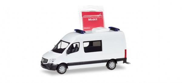 Herpa MiniKit: Mercedes Sprinter Halbbus weiß (013543)