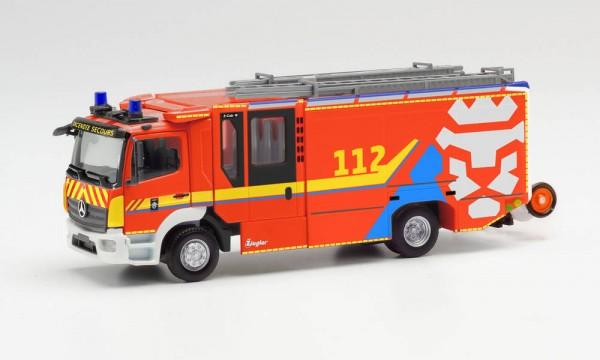 """Herpa: MB Atego `13 Ziegler Z-Cab """"Fw. Luxemburg"""" (096423)"""