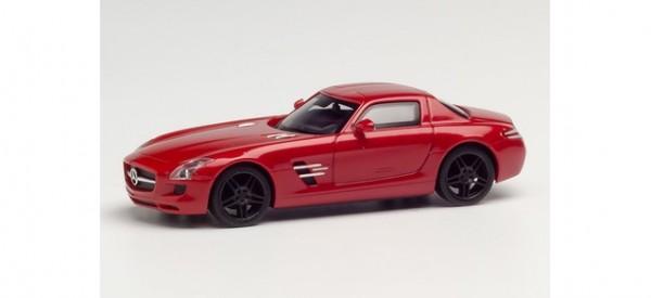 Herpa Mercedes SLS AMG Le Mans rot metallic mit schwarzen Felgen (430784)