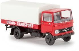 """Mercedes LP 608 Pr./Pl.-LKW """"Union Transport"""" (48570)"""