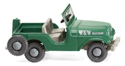 """Wiking Jeep """"W & W Holzbau"""" (001103)"""